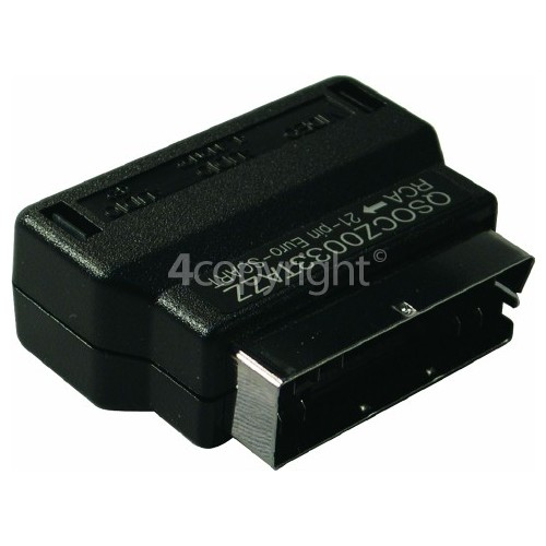 Sharp Scart Adaptor