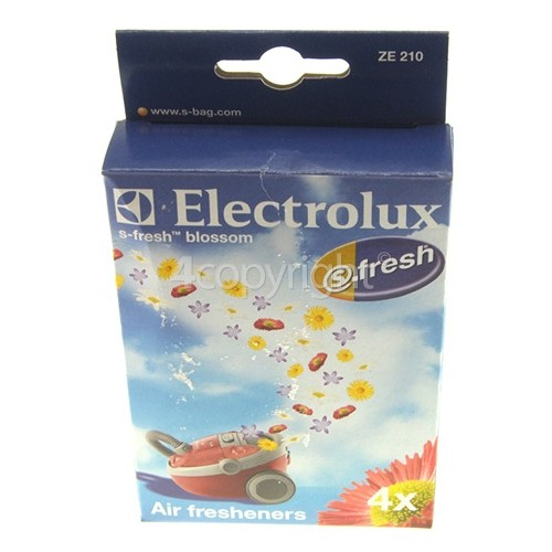 Electrolux ZE210 S-fresh Blossom Air Freshener (Pack Of 4)