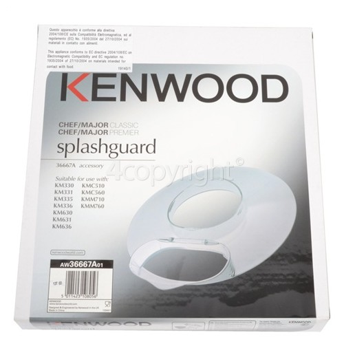 Kenwood 36667A Chef / Major Splashguard Assembly