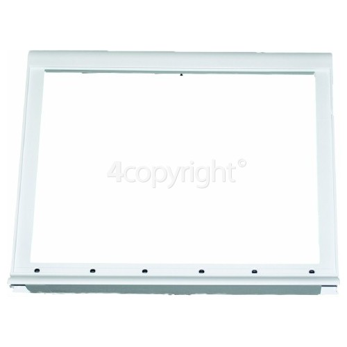 Whirlpool Fridge Lower Shelf Frame : 400x340mm