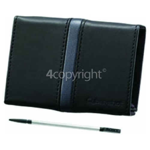 Sony DSCT90 Leather Carry Case With Stylus (Black)