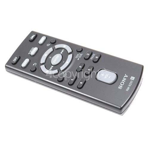 Sony RM-X231 Car Audio Remote Control