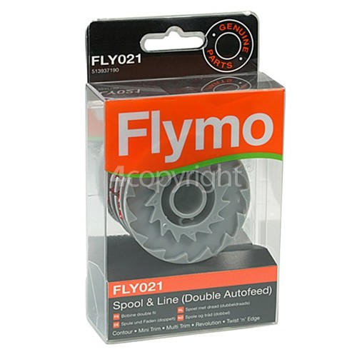 Flymo FLY021 Double Autofeed Spool & Line