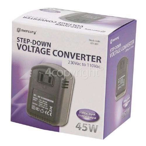 Mercury Telecraft Step-Down Voltage Converter