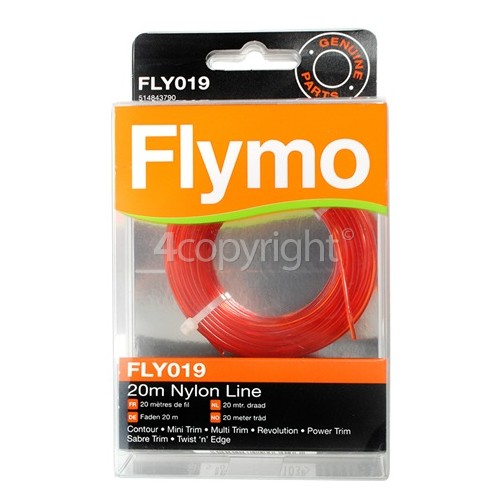 Flymo Mini Trim FLY019 Nylon Line