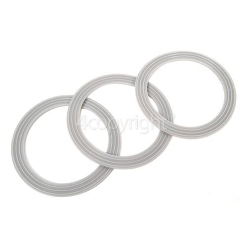 Kenwood Liquidiser Sealing Rings (Pack Of 3)