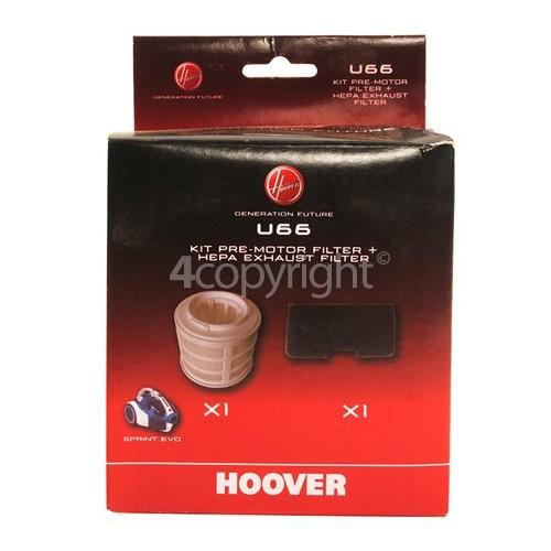 Hoover Vacuum Cleaner U66 Hepa Filter Kit