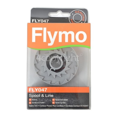 Flymo FLY047 Spool & Line : Flymo Single Line Spool And Line