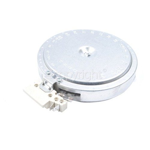 Samsung Small Ceramic Hob Hotplate Element - 1200W EGO 10. 54112. 744