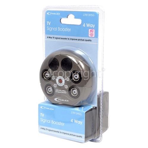 Philex Compact TV Signal Booster - UK Plug
