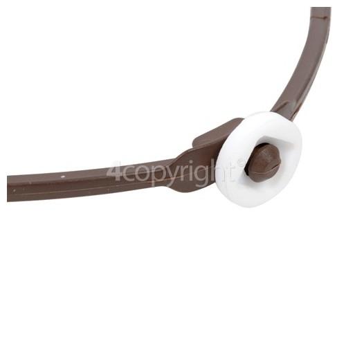 Samsung Roller Guide Assy : 190mm Dia. – Heart Shaped Roller - Medium Wheels