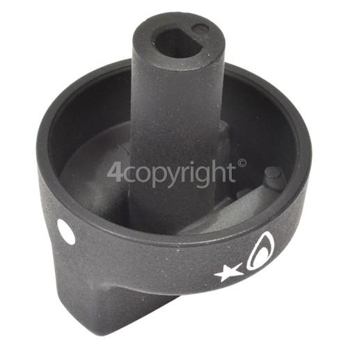Delonghi Hob Burner Control Knob - Black