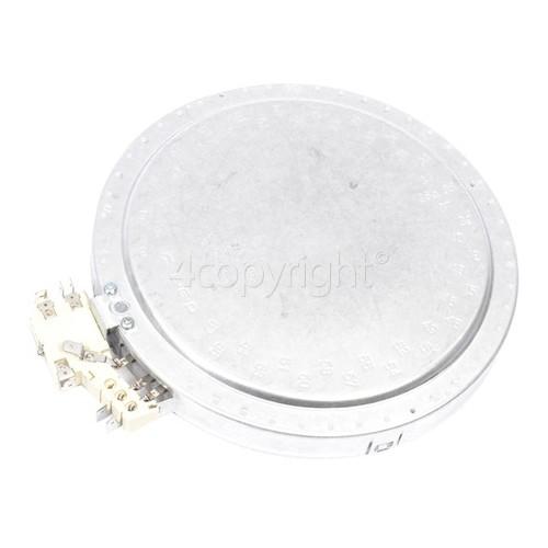 Neff Large Ceramic Hob Double Hotplate Element - 2200W/750W EGO 10.51213.092