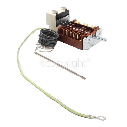Rangemaster Oven Function Selector Switch & Thermostat - 55.13059.210