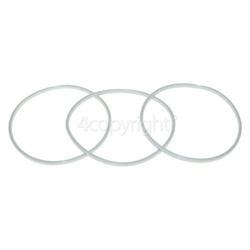 Kenwood Blade Assembly Sealing Ring (Pack Of 3)
