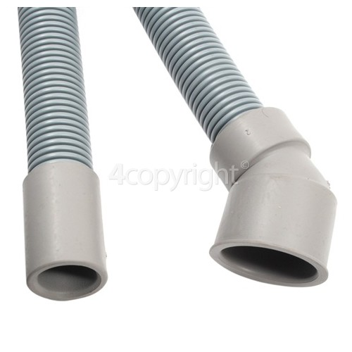 Candy CMLS 1252 2mtr. Drain Hose 17mm End With Slight Angle End 30mm, Internal Dia.s'