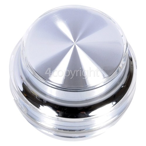 LG Programme Selector Control Knob - Silver