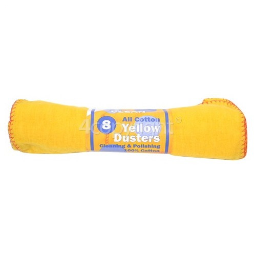 Yellow Dusters (Roll Of 8)
