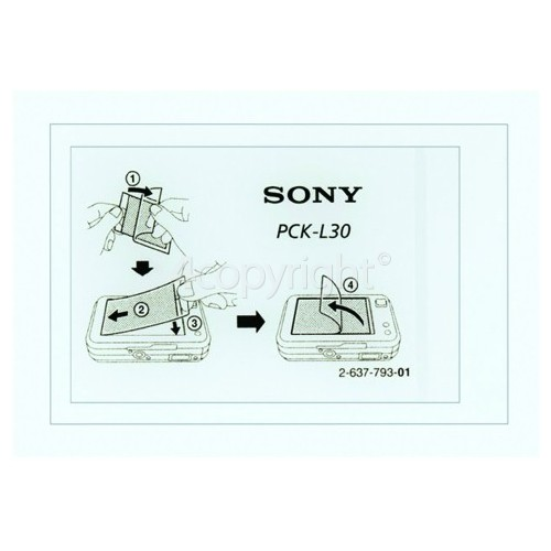 "Sony DSCH3 3"" LCD Screen Protector"