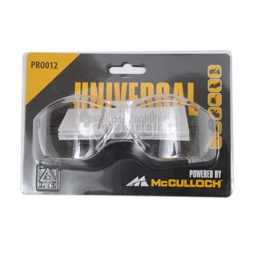 McCulloch PRO012 Protective Safety Glasses