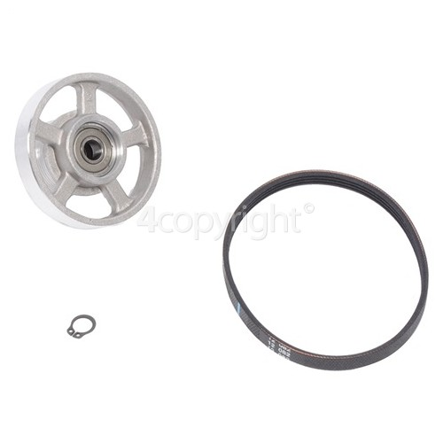 Grundig Pulley Kit & Motor Belt (285 4PHE) - New Design