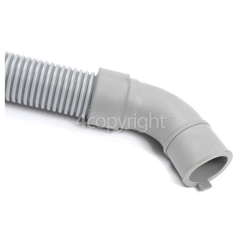 Samsung 1.76Mtr. Drain Hose Straight 21mm With Right Angle End 20mm Internal Dia's.