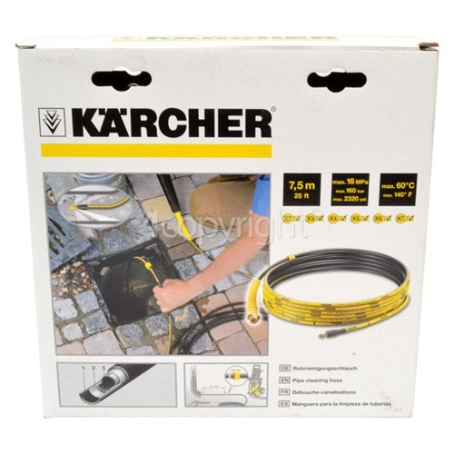 Karcher K2-K7 Drain Cleaning Hose - 7.5m