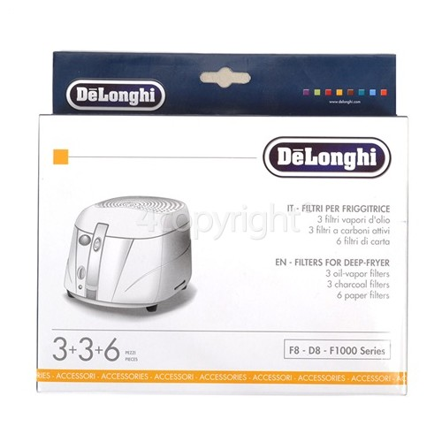 Delonghi Deep Fat Fryer Filter Kit