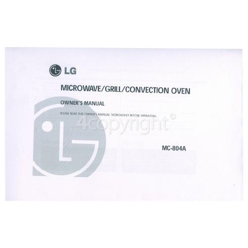 LG Obsolete Instruction Manual Mw