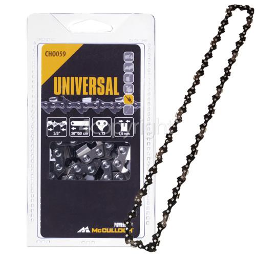 "Flymo CHO059 50cm (20"") 72 Drive Link Chainsaw Chain"