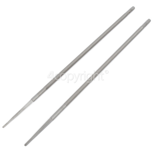 McCulloch FLO005 Round File (Pack Of 2)