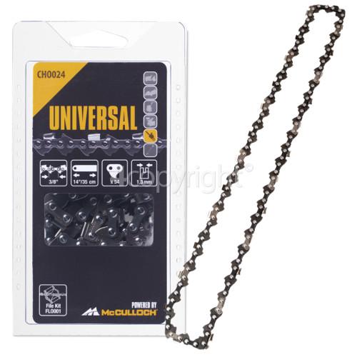 """McCulloch CHO024 35cm (14"""") 54 Drive Link Chainsaw Chain"""