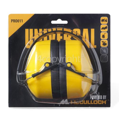 McCulloch PRO011 Ear Protectors