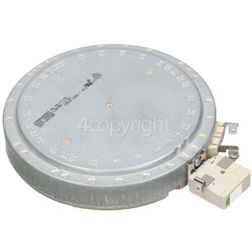 Samsung C61R2AEE Small Ceramic Hob Hotplate Element : Ceramaspeed 165N10-L9911V 1200W / Outer Diameter: 165mm
