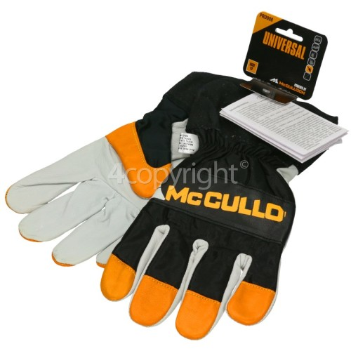 McCulloch Mac Cat 438 PRO009 Gloves With Saw Protection - Size 12