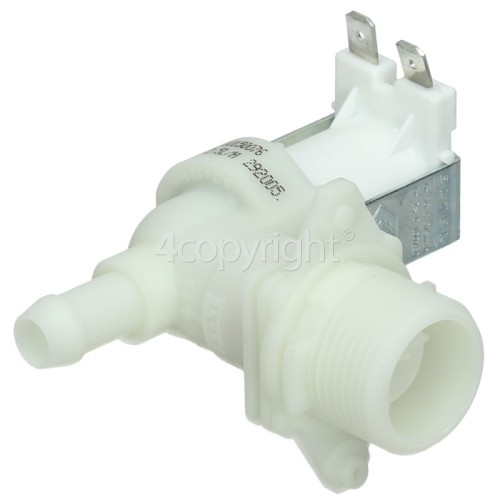 Whirlpool Cold Water Single Solenoid Inlet Valve : 90Deg. With 12 Bore Outlet