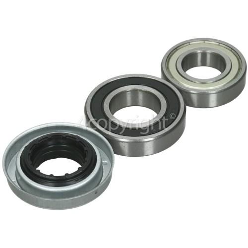 Indesit Bearings 6206Z Plus 6207RS & Seal Kit - 35mm
