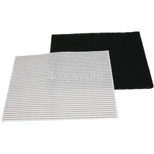 Universal Grease Filter Set : Deep Fat Fryer : ( Cut To Size ) 330x285mm
