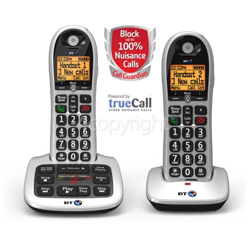 BT BT4600 Call Guardian Advanced Nuisance Call Blocker - Twin Digital Phone