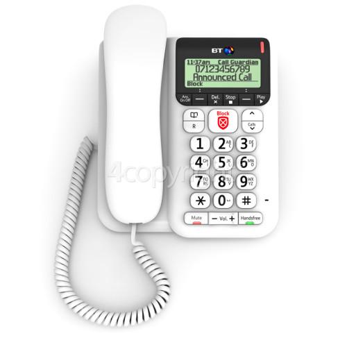 BT Decor 2600 Advanced Call Blocker Telephone With Answer Machine