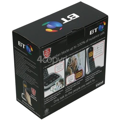 BT BT4600 Call Guardian Advanced Nuisance Call Blocker - Single Digital Phone