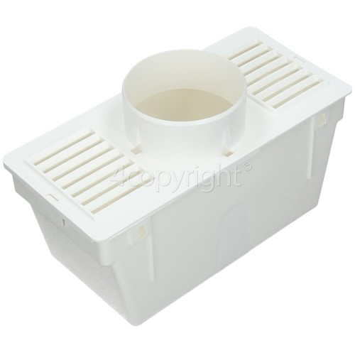 "Universal Vent Kit Condenser Box (2m Length By 4"" Hose)"