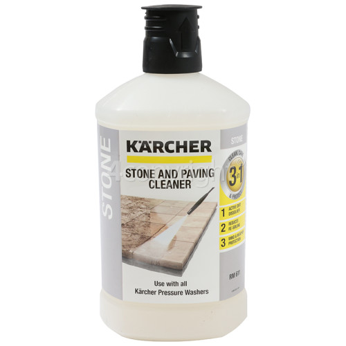 Karcher Stone & Facade Cleaner Plug 'n' Clean Detergent - 1 Litre