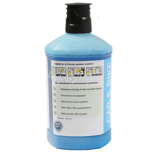 Karcher Wash & Wax Plug 'N' Clean Car Shampoo - 1 Litre