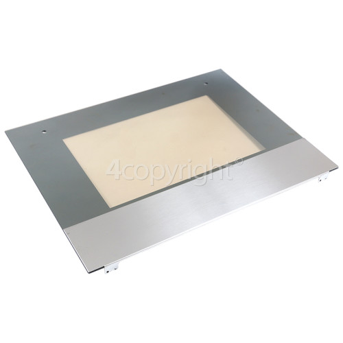 Indesit FIS 53 K C.A (BK) Main Oven Outer Door Assembly