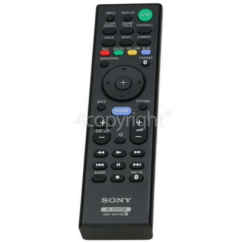 Sony RMT-AH111E Soundbar Remote Control