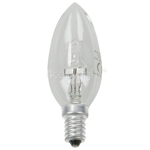 Hotpoint HE72X 28W SES (E14) Long Appliance Lamp - Halogen