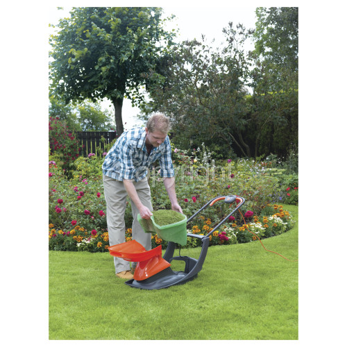 Flymo Glider 330 Electric Hover Collection Mower