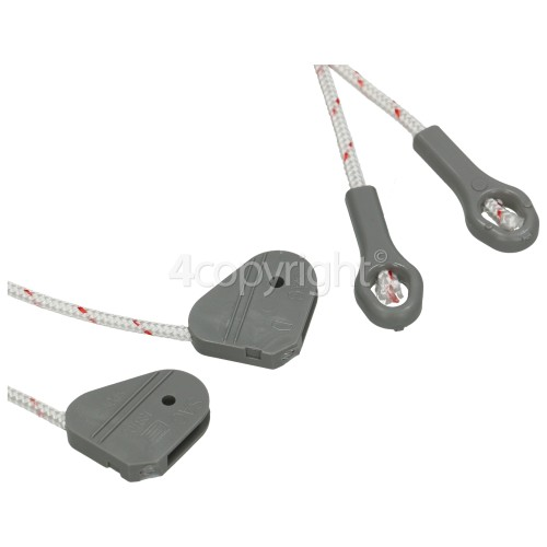 Beko Door Hinge Brake Rope - Pack Of 2 : 395mm ( Length Of Rope / Cable )