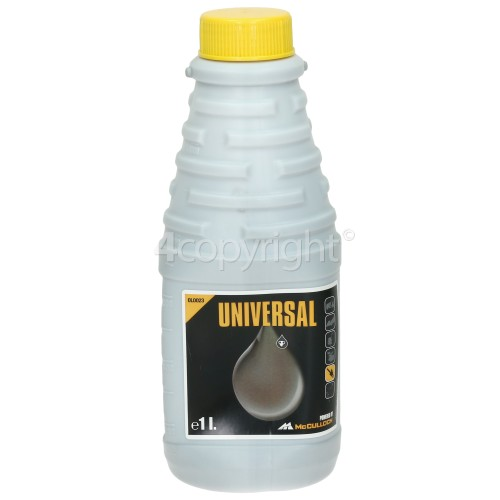 Universal Powered By McCulloch OLO023 Mineral Chain Oil - 1 Litre